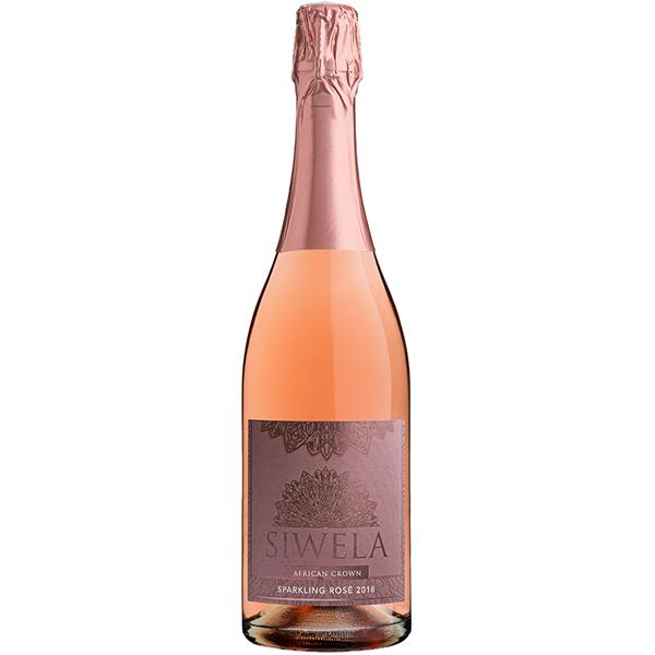 Siwela African Crown Sparkling Rose 2018 LR
